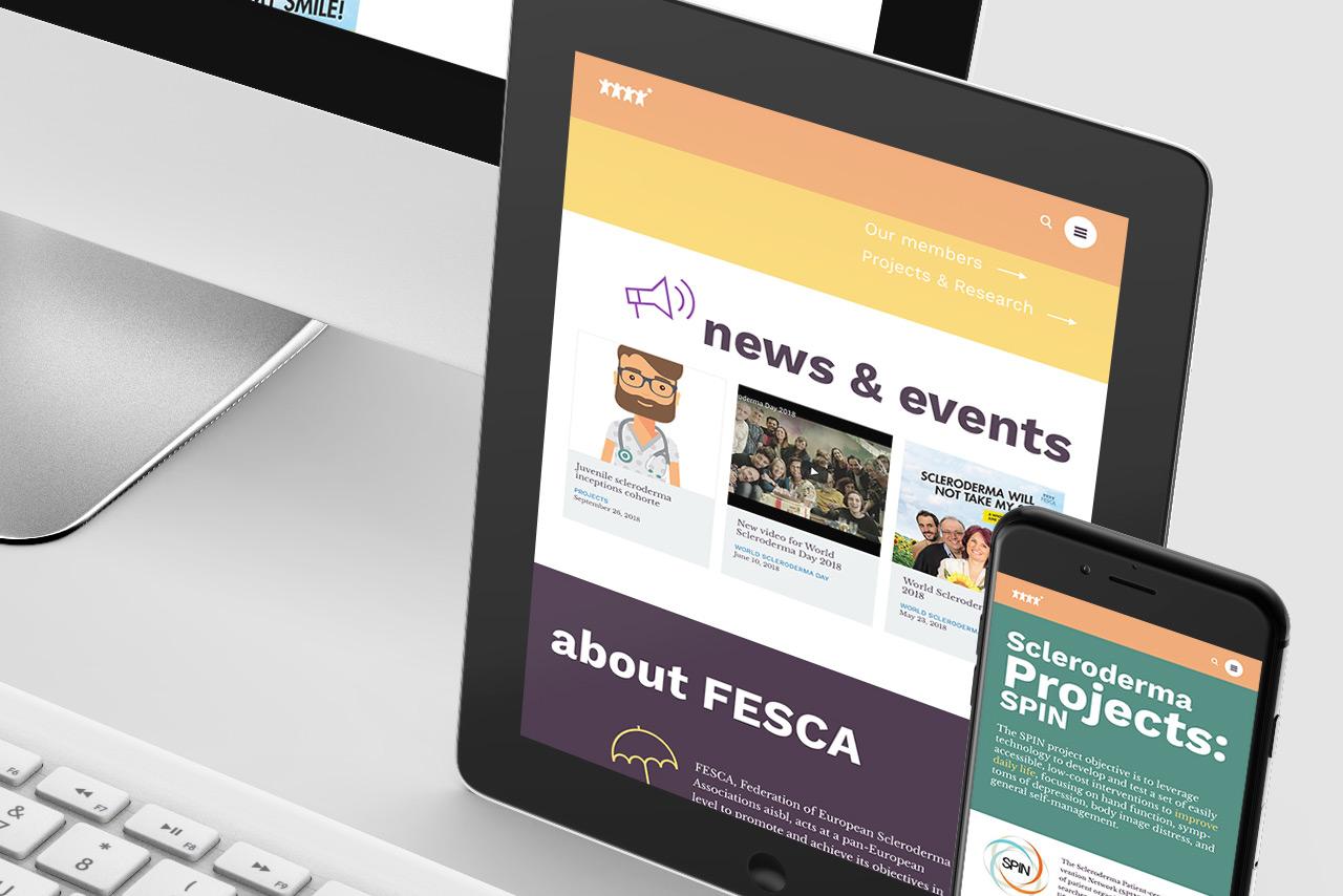 FESCA website design & development