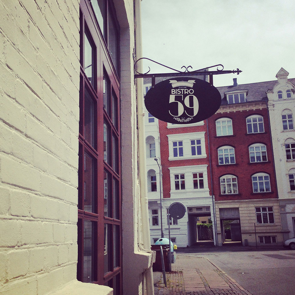 Outside Bistro59, Aalborg